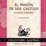El miajón de los castúos, de Luis Chamizo.